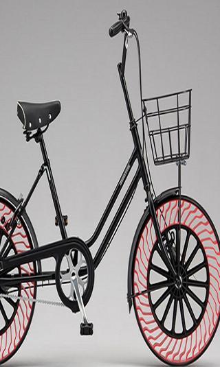 دراجات هوائية بإطارات خالية من الهواء