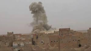 مصدر: مقتل 50 مدنياً بقصف جوي ومدفعي بالجوف