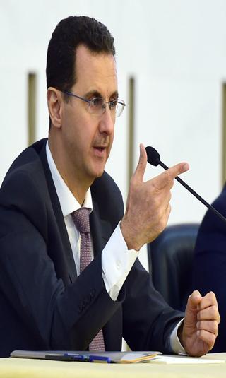 بحضور الأسد.. حزب البعث يغير نصف قيادته القطرية