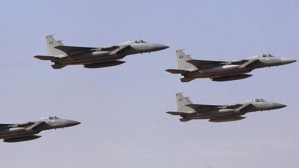 مقاتلات التحالف تقصف مواقع وآليات عسكرية لمليشيات الحوثي في البيضاء