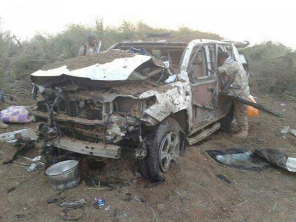 شهداء وجرحى جراء غارة استهدفت سيارة في الوازعية