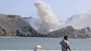 العدوان على اليمن| قصف هو الأعنف على عدن.. وانسحاب لبوارج أجنبية