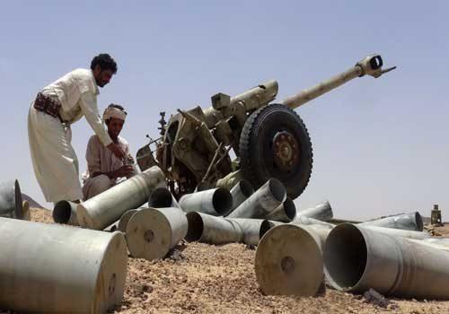 12 قتيلاً وجريحاً جراء قصف مدفعي استهدف المرتزقة في شبوة
