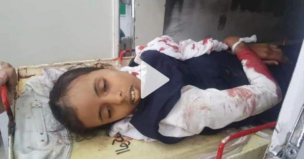 استشهاد وإصابة 4 طالبات بقصف حوثي استهدف مدرسة بمدينة تعز