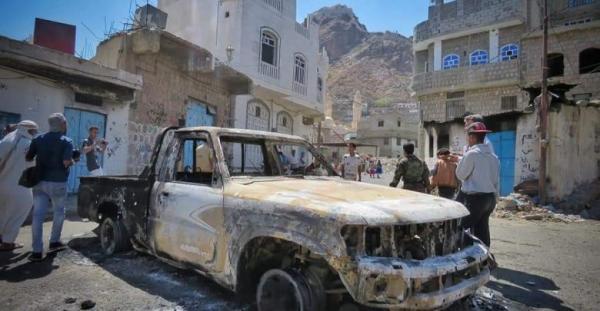 مصادر: جرائم &#34الحشد&#34 التابع للإخوان بمدينة تعز تمرد سياسي وعسكري على السلطة المحلية