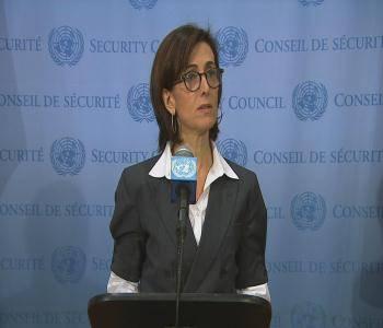 مجلس الأمن.. إحاطة رئيس المجلس للصحفيين عقب جلسة اليمن