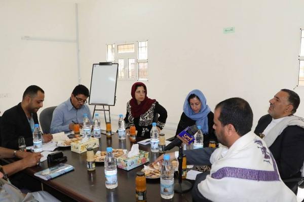 ممثلة منظمة اليونيسيف باليمن تختتم زيارتها إلى صعدة