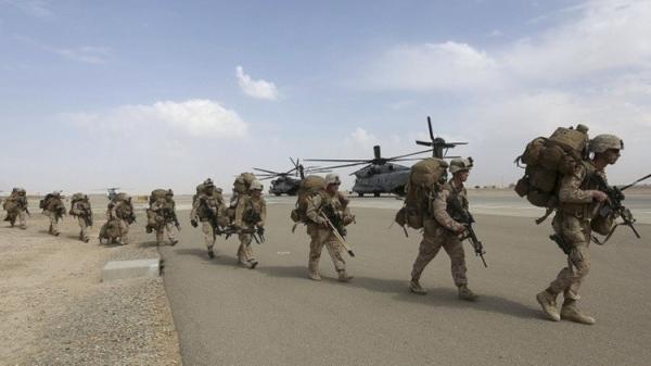 المارينز يعودون إلى ولاية هلمند الأفغانية