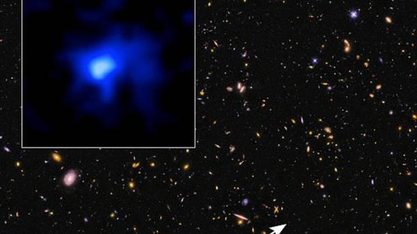 علماء الفلك يكتشفون مجرة تبعد عن الأرض 13.1 مليار سنة ضوئية