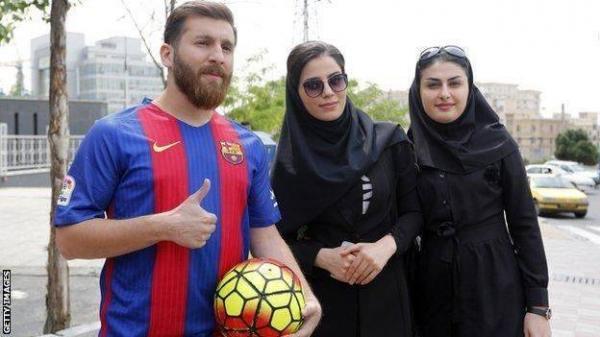 اعتقال شبيه ميسي في إيران