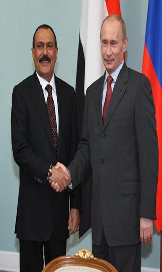 الزعيم صالح يبعث برسالة للرئيس بوتين (نص الرسالة)
