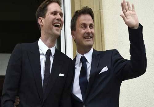 في حدث نادر في الاتحاد الاوروبي: رئيس وزراء لكسمبورغ تزوج صديقه