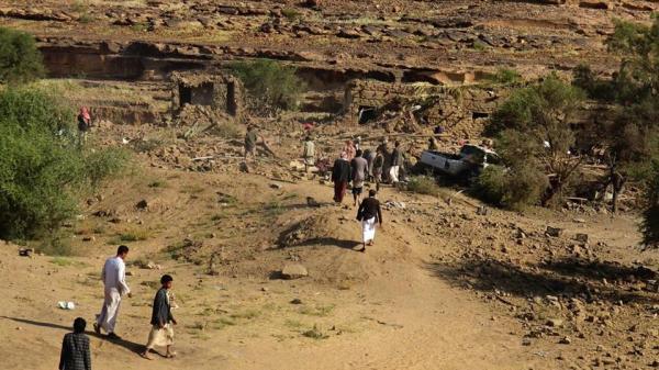 ضحايا في قصف صاروخي سعودي على شدا بصعدة