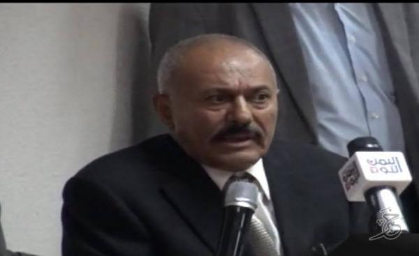 الرئيس صالح يكشف عرضاً سعودياً ضخماً مقابل &#34التحالف&#34