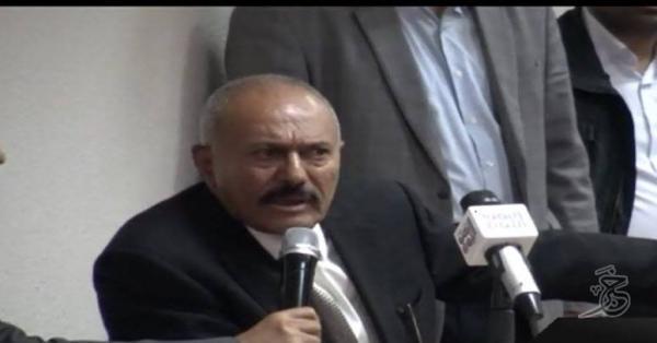 صالح: تحرك المؤتمر في المديريات لمواجهة العدوان أما الانتخابات &#34بعيدة&#34(فيديو)