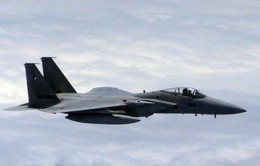 اليابان ترسل طائرات مقاتلة الى محيط جزر متنازع عليها مع الصين
