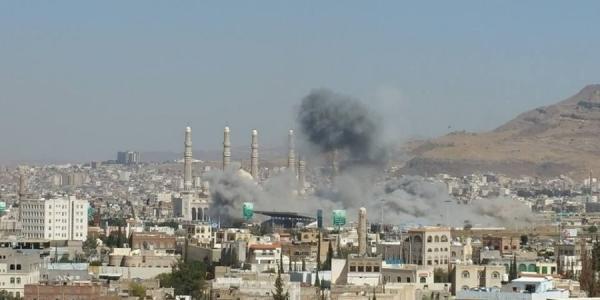شهيدان وجرحى بغارة على جنوب صنعاء
