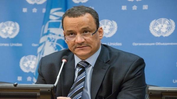 المبعوث الأممي ولد الشيخ يصل صنعاء خلال 48 ساعة