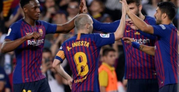 انييستا وتوريس يودعان برشلونة واتلتيكو مدريد