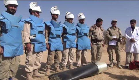 بالصور: قصف صعدة بأسلحة &#34جديدة محرمة&#34