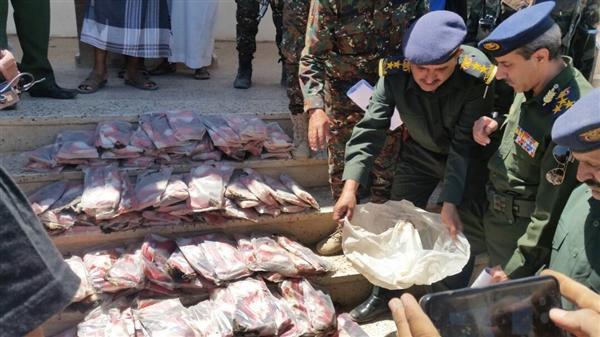 """مأرب.. الأجهزة الأمنية تضبط شحنتين من """"الحشيش"""" كانتا في طريقهما إلى صنعاء"""