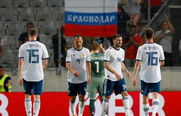 روسيا مستضيفة كأس العالم تواجه المزيد من المشكلات بالخسارة أمام النمسا