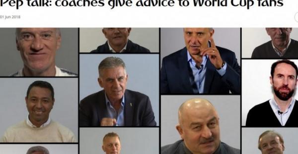 فيديو: رياضيون كبار يقدمون نصائح لجمهور كأس العالم 2018 في روسيا