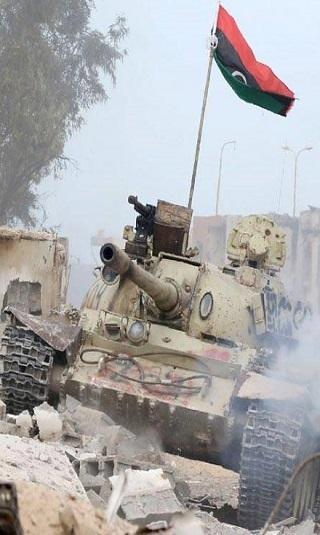الجيش الليبي يعلن المرحلة الثانية من عملية تحرير درنة