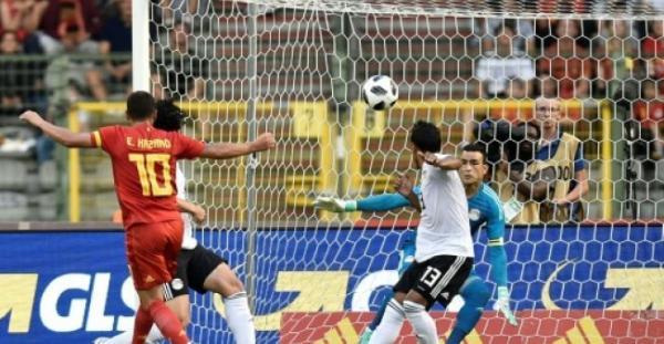 مصر تخسر بغياب صلاح بثلاثية نظيفة أمام بلجيكا في ختام الاستعدادات لكأس العالم