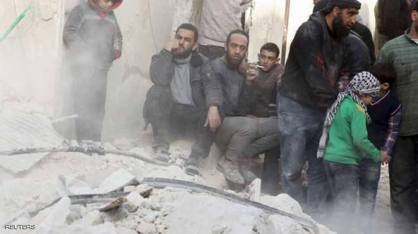 قتلى ومصابون في غارة روسية بريف إدلب