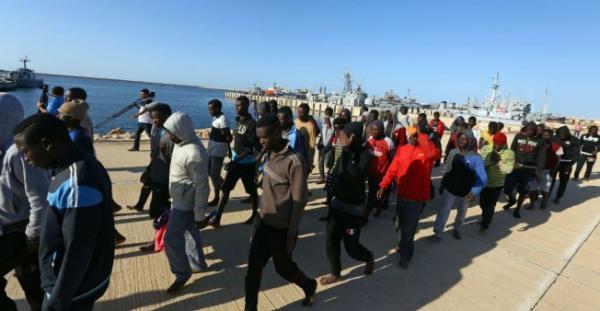 ليبيا: عقوبات أممية للمرة الأولى بحق ستة رؤساء لشبكات اتجار بالبشر وتهريب مهاجرين