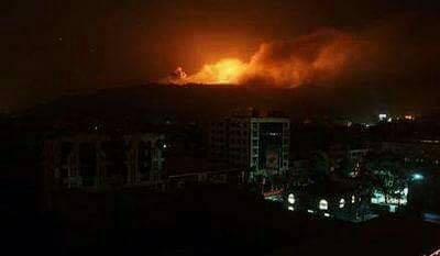 انفجارات عنيفة تهز العاصمة صنعاء