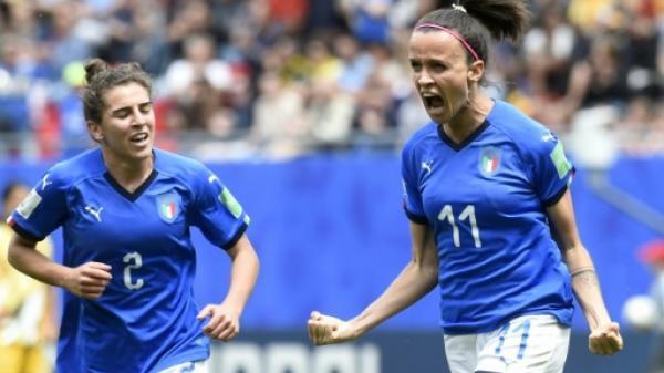مونديال السيدات 2019: إيطاليا تستهل عودتها الى النهائيات بفوز قاتل على استراليا