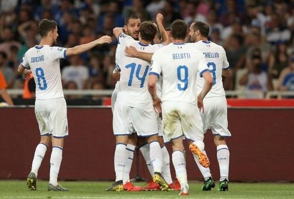 إيطاليا تسحق اليونان وتهيمن على مجموعتها بالتصفيات الأوروبية
