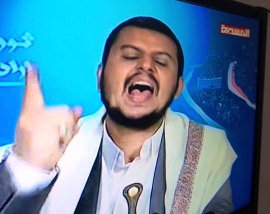 زعيم المليشيا عبدالملك الحوثي يسيئ لرسول الله ويصفه بـ&#34رجل مشاكل&#34 (فيديو)