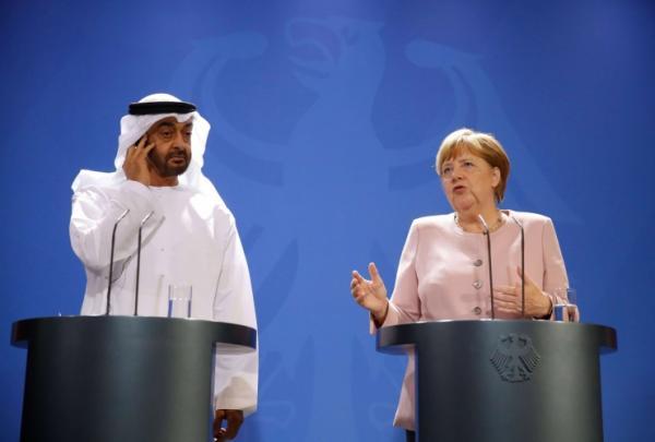 الإمارات وألمانيا تطالبان إيران بالكف عن أي أفعال من شأنها تصعيد التوتر