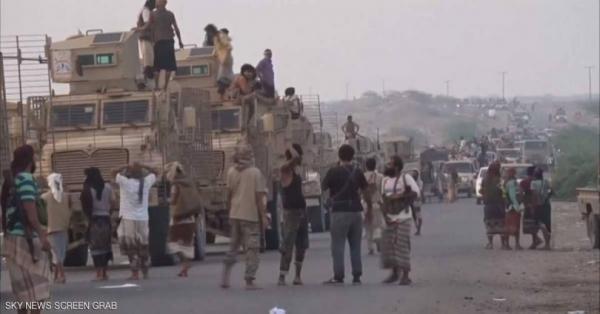 القوات المشتركة تصل منطقة الدوار الكبير في الحديدة