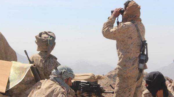 القوات الحكومية تحرّر السلاسل الجبلية المطلة على مركز باقم صعدة