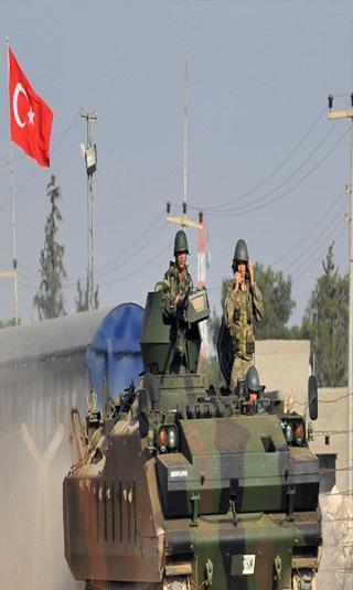 وصول قوات تركية الى قطر