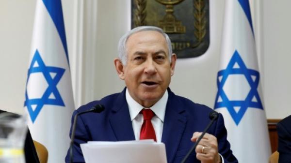 """نتانياهو يحذر """"اعداء"""" إسرائيل مع تصاعد التوتر في الخليج"""