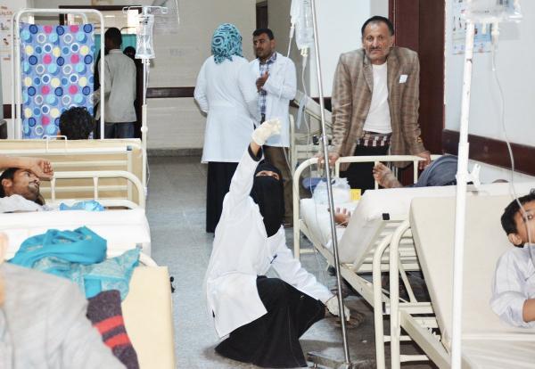 الصحة العالمية: 166 ألف حالة كوليرا باليمن ووفاة 1146 مصاباً