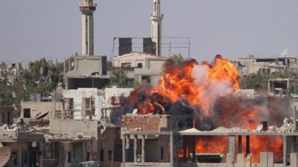 الجيش السوري  ينفذ عملية في درعا .. ويتقدم نحو الحدود الأردنية