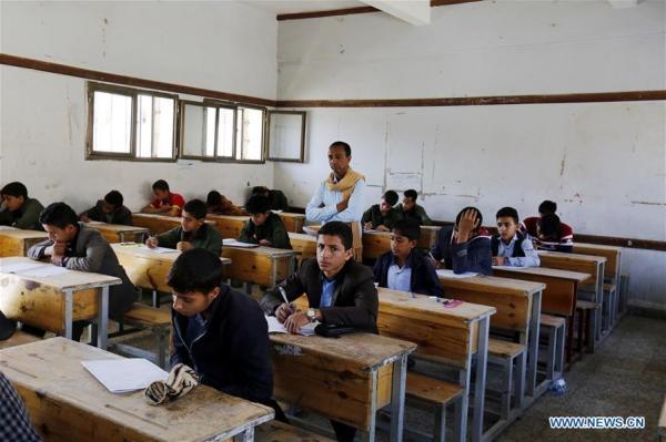الحوثيون يمنعون إيصال مظاريف الامتحانات لطلاب قعطبة