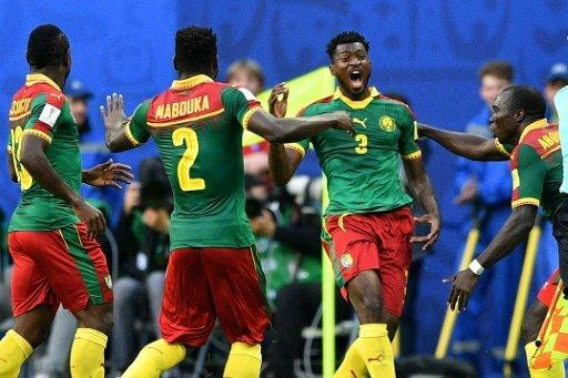 كأس القارات 2017: تعادل الكاميرون واستراليا 1-1