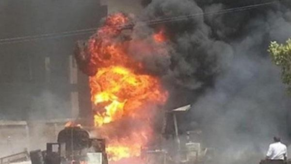 ذمار.. انفجار أسطوانتي غاز تالفتين خلف أضراراً وسقوط ضحايا