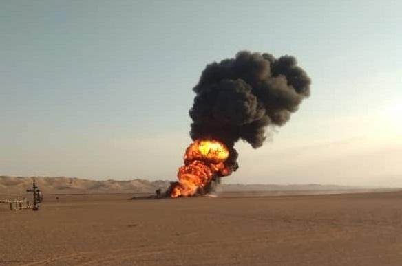 تعرض أنبوب النفط في شبوة لعمل تخريبي