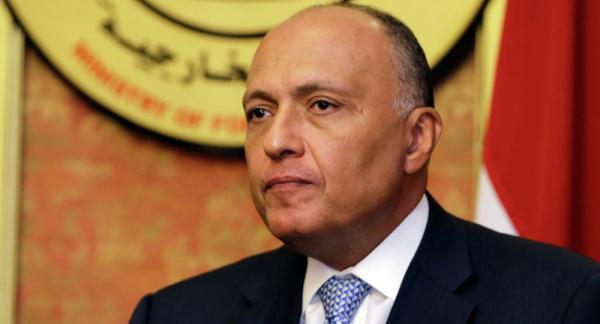 وزير الخارجية المصري: نرفض تدخلات إيران.. وأمن الخليج من أمن مصر