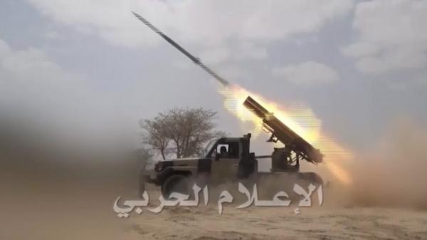 قوات الجيش تصعد قصفها المدفعي والصاروخي في العمق السعودي
