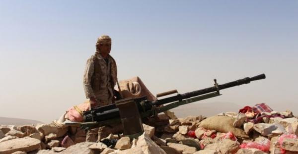 إحباط هجوم لمليشيا الحوثي في جبهة العقبة بالجوف