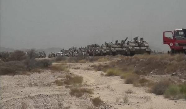 الجيش يصد زحفا في عقبة ثرة الاستراتيجية.. وتعزيزات تصل للمرتزقة